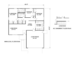 bold idea 1100 sq ft floor plans 3 bedroom 2 plan for affordable