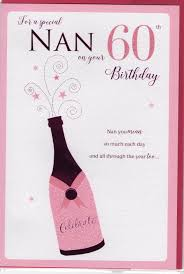 for a special nan on your 60th birthday card dot2dot cards