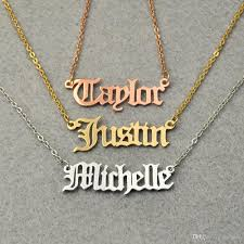 name plate jewelry wholesale personalized nameplate jewelry christmas gift