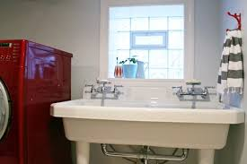 Faucet For Utility Sink Large Utility Sink Laundry Room With Double Faucets Home Interiors