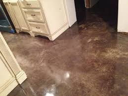 Laminate Flooring Concrete Slab Heated Stained Concrete Floor Diy By Eric And Julie My Projects