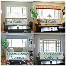 Curtains Without Rods Catchy Curtains Or No Curtains Inspiration With How To Make