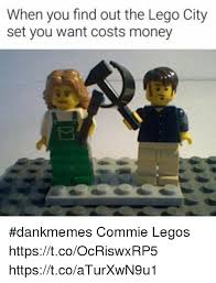 Lego Meme - when you find out the lego city set you want costs money