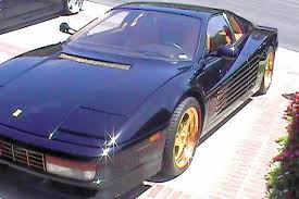 1987 testarossa for sale a customized gold trimmed 1987 testarossa for sale on ebay