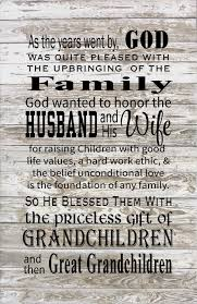 god blessed the husband u0026 wife with grandchildren great