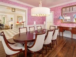 dining room wallpaper inside tiffany jones u0027 amazing home transformation