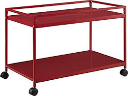 Rolling Coffee Table Marshall 2 Shelf Rolling Coffee Table Cart