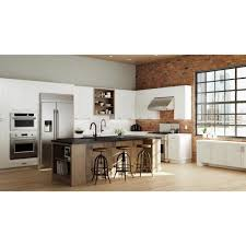 home depot kitchen wall cabinets with glass doors hton bay designer series melvern assembled 36x42x12 in