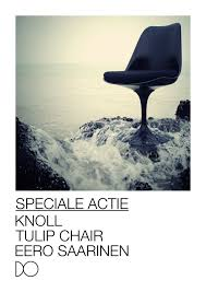 flyer design oostende u2013 knoll tulip chair forma b logo web