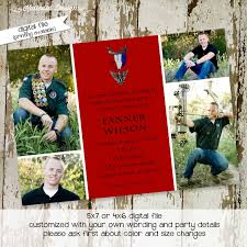 Eagle Scout Invitation Cards Eagle Scout Court Of Honor Invitations Katiedid Designs