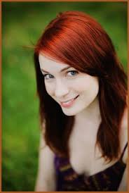what is felicia day s hair color páči sa mi to 74 komentáre 1 2 swedish sheerios