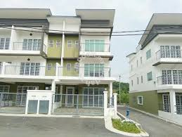 3 storey house new house end lot 3 storey house at tmn desa sg merab
