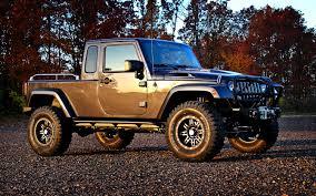 jeep nukizer kit next generation wrangler could get pickup version truck trend news