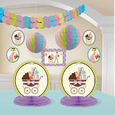 baby shower kits modern room decorating kit baby shower giraffe