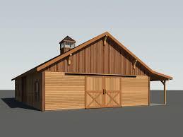 barn house blue ridge barn model b