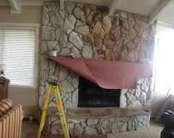inspiring rock fireplace design ideas wooden flooring decoration