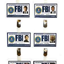 Fbi Halloween Costume Supernatural Fbi Id Badge Winchester Sblackwell19 Ebay