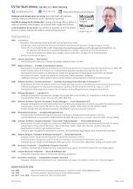 Scrum Master Resume Cv And Compentencies
