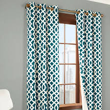 Insulated Thermal Curtains Thermalogic Trellis Print Grommet Top Insulated Thermal Curtain