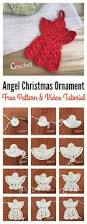 christmas ornament free crochet pattern and video tutorial