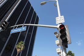 red light ticket culver city city slams the brakes on red light cameras park labrea news