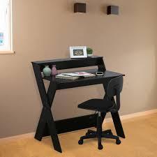 Modern Espresso Desk Furinno Modern Simplistic Espresso Criss Crossed Study Desk