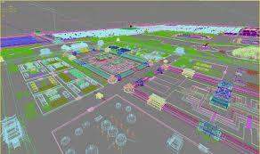 Yuan Dynasty Map Dadu City Site Of Yuan Dynasty 1 3d Model