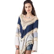 blouse plus size multicolor v neck lace crochet kimono blouse plus size shirt