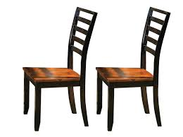 amazon com steve silver company abaco side chair set of 2 chairs