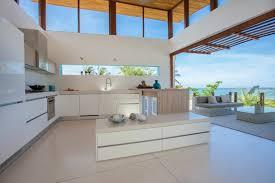 hauteur fenetre cuisine fenêtre bandeau pour déco de cuisine contemporaine