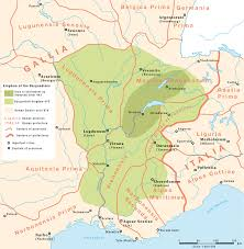 Map Of Provence Kingdom Of Burgundy Wikipedia