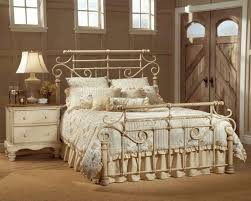 grey bedroom furniture brass framed wall picture wooden side table