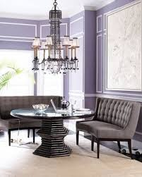 banquette with round table curved dining banquette vanguard each banquette a round dining