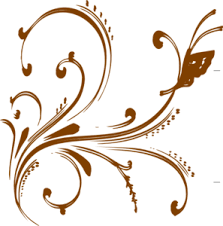 Gold Flowers Flowers Clipart