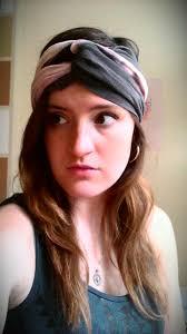 bleach dye scarf headband meanwhile in brooklyn
