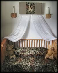 crib canopy nursery bedroom realtree camouflage mossy oak