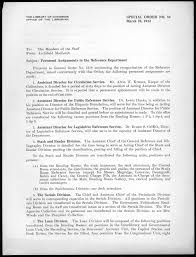 Announcement Letter Of Appointment Of Employee To New Position Freedom U0027s Fortress The Library Of Congress 1939 To 1953