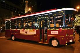 Zoo Lights Boston by Chicago Trolley Holiday Lights Tour Chicago Attractions