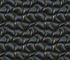 wave quilted leather fabric bonnie phantasm spoonflower