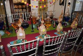 Harry Potter Decoration Party — Guru Designs Harry Potter Party