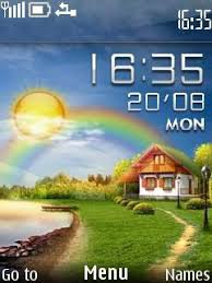 themes of java download live village nokia theme mobile toones