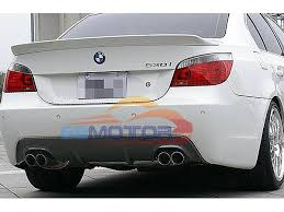 bmw 535i exhaust carbon fiber rear diffuser exhaust system for bmw e60 5