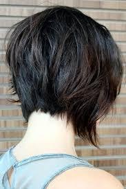 front and back views of chopped hair best 25 layered bob short ideas on pinterest short bob haircuts