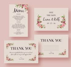 menu template wedding free wedding design templates 23 wedding menu templates free