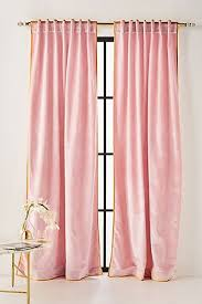 Pink And Gold Curtains Curtains Drapes Window Treatments Anthropologie