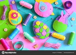 easter ornaments felt easter eggs with flowers and bunny a felt bird easter