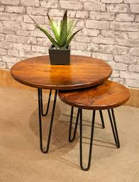 metal end table legs 62 most great 18 hairpin legs metal coffee table wood with