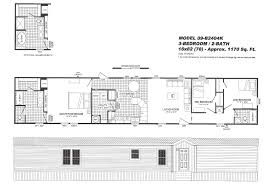 3 bedroom floor plan 2404 hawks homes manufactured u0026 modular