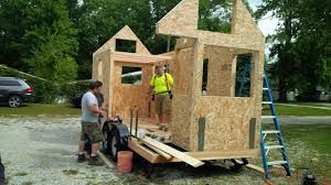 Sip Tiny House From Trailer To Tiny House In An Afternoon The Sip Solution