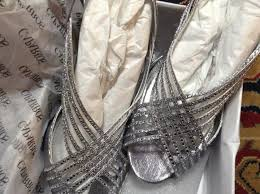wedding shoes size 9 caparros silver fancy dressy sandals size us 9 5 regular m b